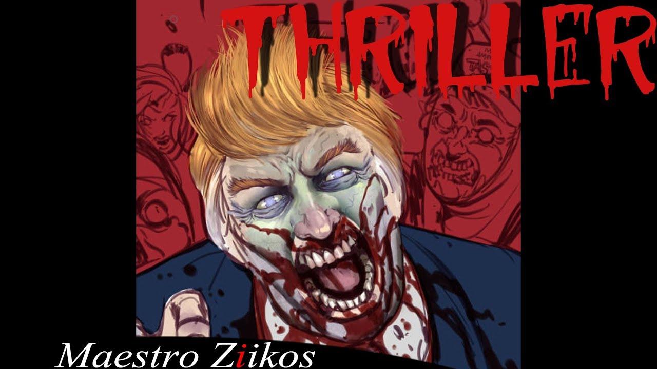 Donald Trump cantant el Thriller de Michael Jackson