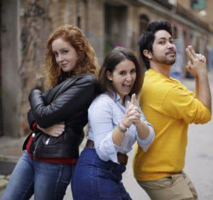 La Cristina Costa, la Núria Torralba i el Man Hoh Tang presentan ESTEM DINS a la GUM.