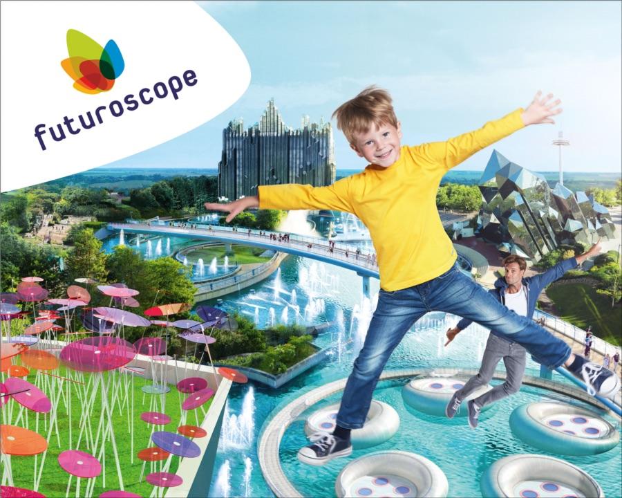 Futuroscope a Poitiers, França.